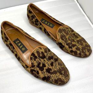 < Zalo Cheetah Print Loafers >